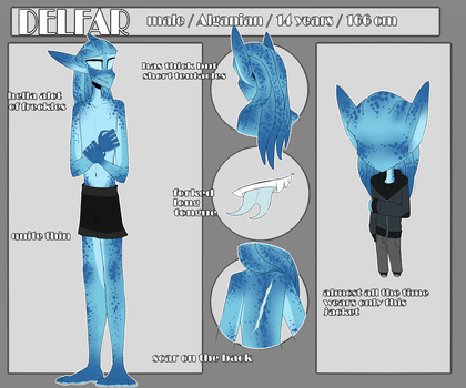 Delfar Ragni | Reference sheet by SoulHunter213