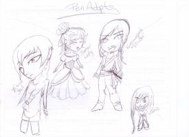 Pen Adopts by MeganEliMoon