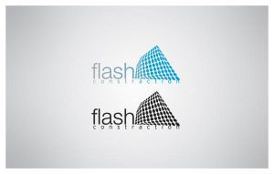 FLASH CONSTRACTION LOGO by kungfuat