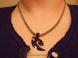 Tiny Byzantine with Black Pendant by ulfchild