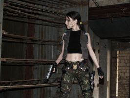 Lara Croft - Strahov complex by TanyaCroft