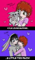 old pic- Kyle loves BUNNIES... by Zombie-Pip
