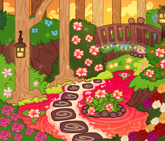 Hibiscus Tea's Pond home by MidnightSketches