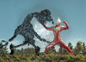 Ultraman by IsraelFelix