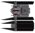 Tie Explorer  Yulan S Imperial Fighter  By Yul by TerraxLorche