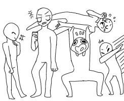 draw my squad F2U by CashieCashew