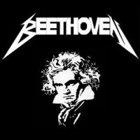 Beethoven - Metallica by Miki-cat
