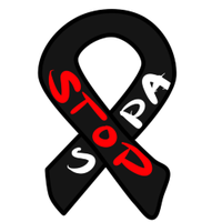 STOP SOPA RIBBON by KingRefi
