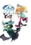 STAR VS THE FORCES OF EVIL FANART (NO BACKGROUND) by rkem741