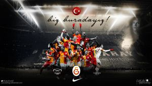 Galatasaray - We are here ! by ozturkdesign