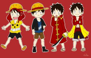 Film Z Luffy by yunzl