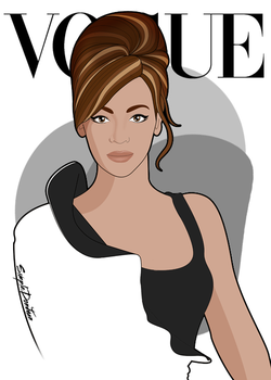 Beyonce for Vogue Magazine by simpledonjuan