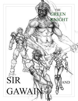 Gawain and the green knight by Poncerocket