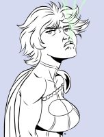 Power Girl Reaction 6 by MegaSweet