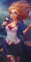 All LoL Champions (ALoLC): 013 Janna (Forecast) by Hex-plosive