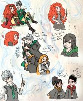 Harry Potter AU:Headcanon Dump pt 1 by Kiome-Yasha
