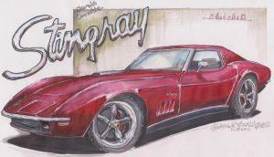 Red VETTE by HorcikDesigns