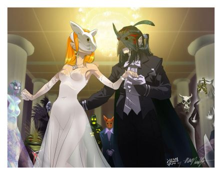 Commission: Monster's Ball by vashperado