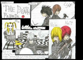 The Death -Note- Parade by RandomPanic