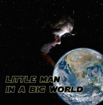 Little man in a big world by zoolook-designer