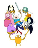 ADVENTURE TIME by MCorderroure