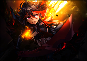 Kill la Kill Ryuko Tag by TheIzaya