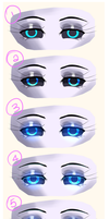 Tutorial: Glowy Eyes by LillinApocalypse