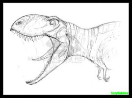 Carnivores T.rex by SizzyBubbles