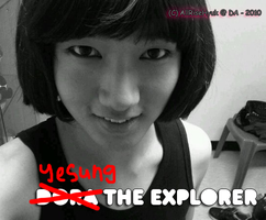 Yesung 'The Explorer' lol XD by AllRiseHyuk