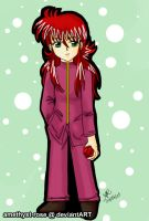 +kawaii kurama+ by amethyst-rose