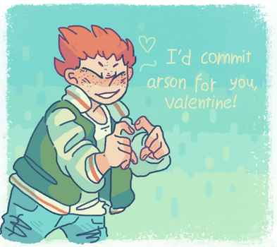 Gift| Shou valentines card by iLee-Font