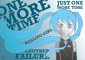 Rolling Girl by Pollonium