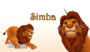 MMD Simba by KingdomHeartsNickey