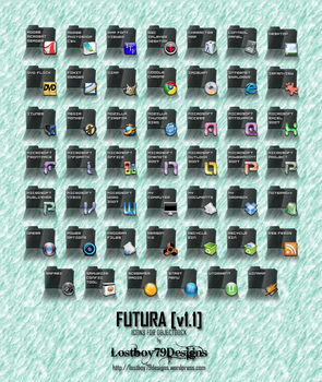 Futura - Dock Icons by Lostboy79designs