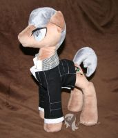 Yuu Narukami ponified *with jacket* by Yukamina-Plushies