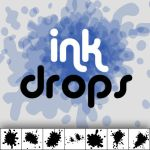 Ink Drops Custom Shapes by Sed-rah-Stock