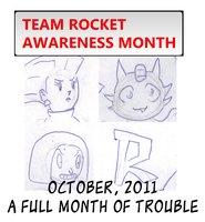 Team Rocket Awareness 2011 by Batzarro