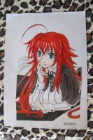 High School DxD - Rias Gremory by Rustanix