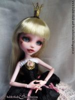 Doll for Antonia - Monster High doll customization by jen-jamieson