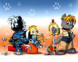 Keyblade Cubs II by Tavi-Munk