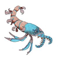 Naked Hermit Anomalocarid by NocturnalSea