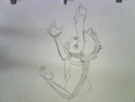 FLCL Pencil Test by slyshand