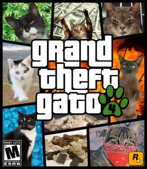 Grand Theft Gato 4 by lrodon