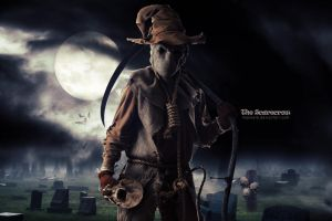 The scarecrow by Maxwelb