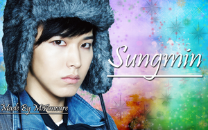Lee Sungmin Wallpaper by MiAmoure