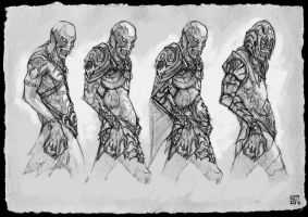 Orc Concept by Skyrion