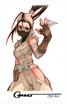 Ibuki Pointy by Omar-Dogan