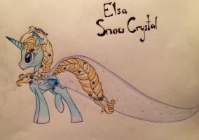Snow Crystal by RarityForever