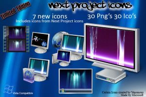 Next Project Icons_Exclusive_ by VenomousJP