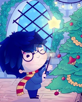 Harry's Christmas by Whimsette